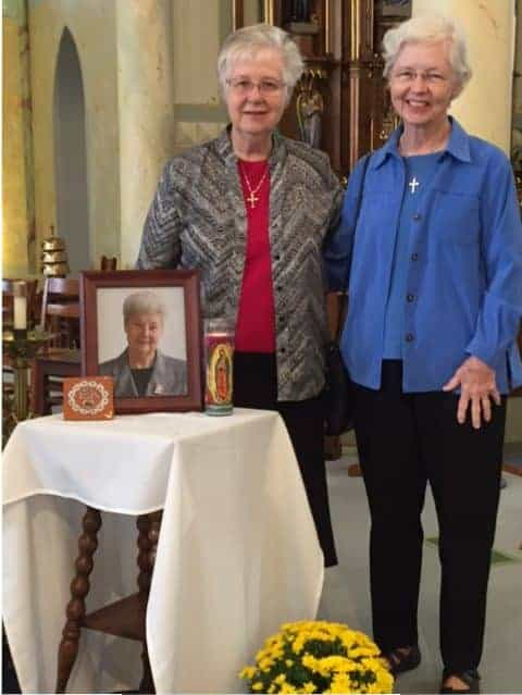 Pictured: Sister Peggy Bonnot and Sister Rose Ann McDonald