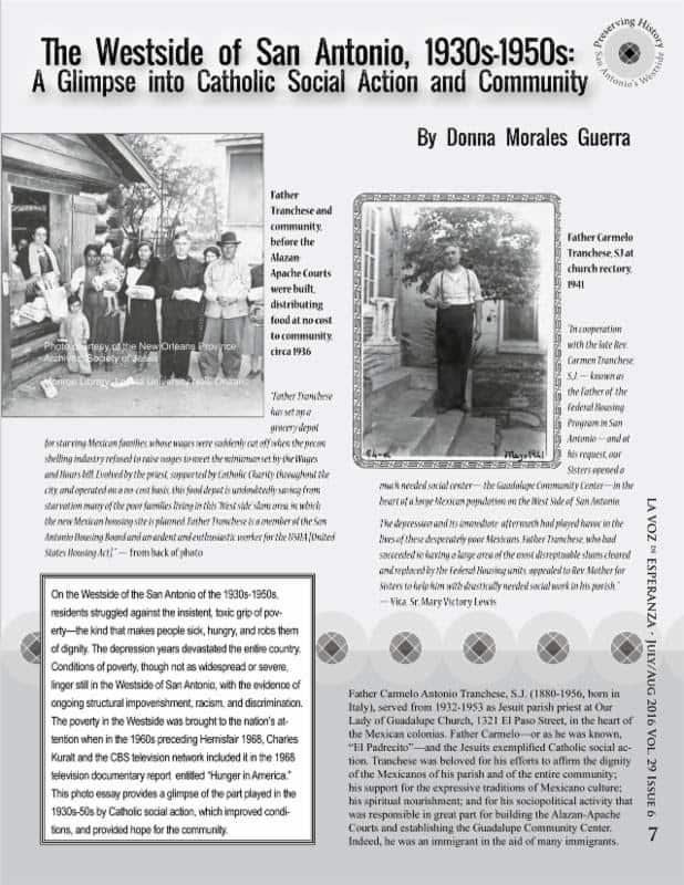The Westside of San Antonio, 1930s-1950s