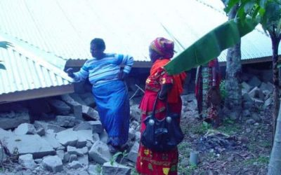 Women's Global Connection Surveys the Situation in Tanzania following the earthquake