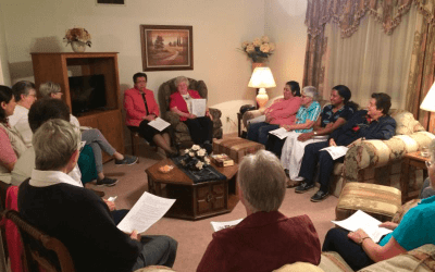 Welcome Ceremony for Pre-Novices at Emmaus Community, San Antonio