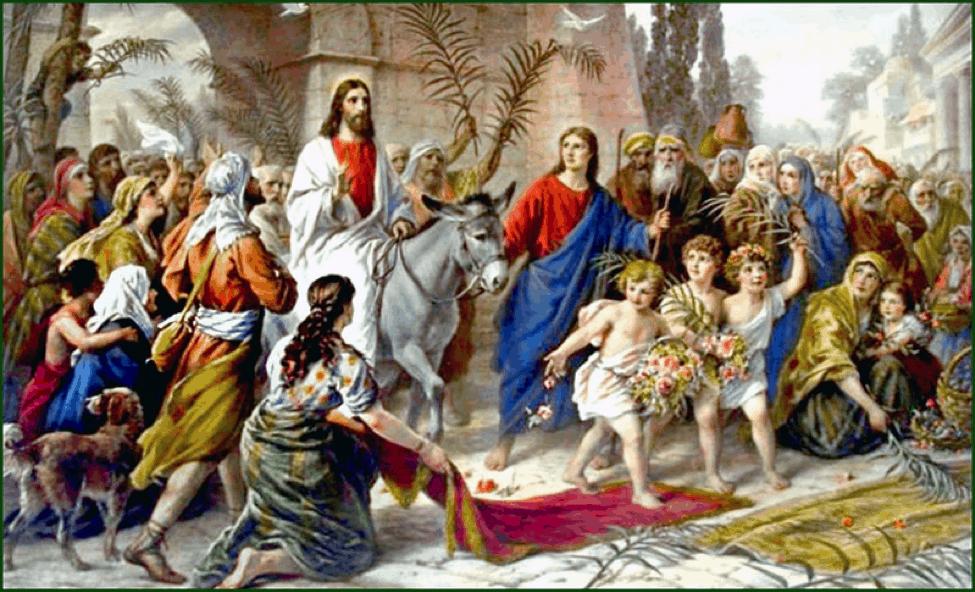 Celebración del Domingo de Ramos   Amormeus