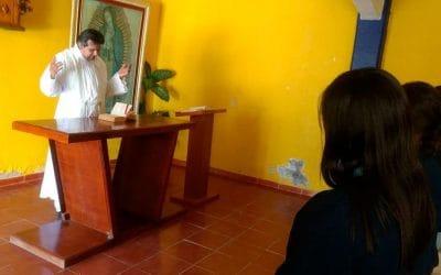 Misiones de Semana Santa del LICEO Cervantino de la UIW campus Bajío
