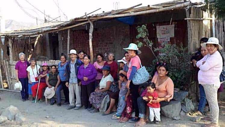 Sister Ivonne visited the Valle Progreso Area
