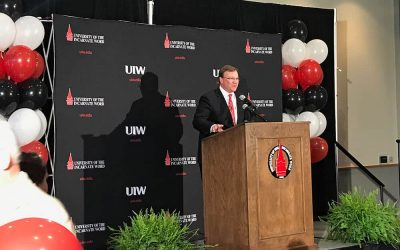 UIW Officially Welcomes Dr. Thomas Evans