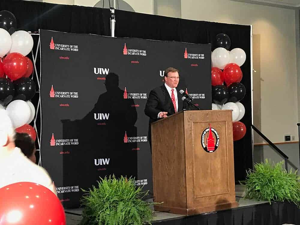 UIW Presdient Elect, Dr. Thomas Evans