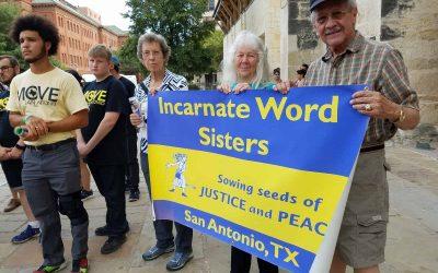 CCVIs join San Antonio Vigil for Immigrants