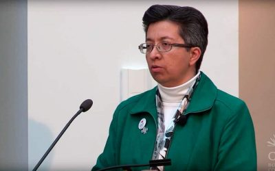 CCVI Sr. Teresa Maya speaks about Conscience and the role of Women Religious into the Future at C21 from Boston College