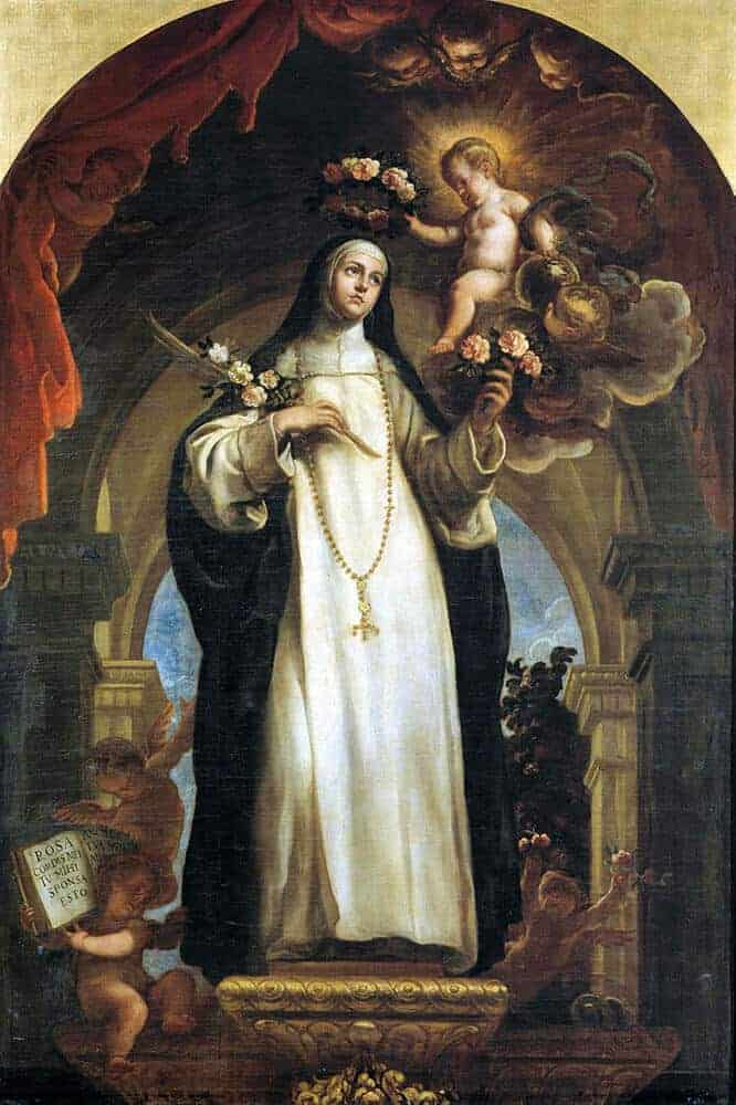 Saint Rose of Lima, Patroness of Peru