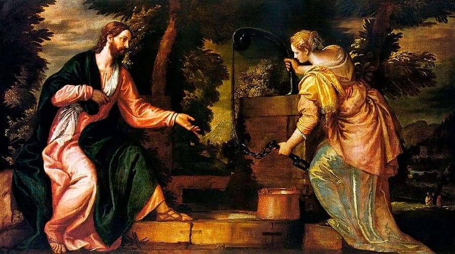 Jesus and the Samaritan Woman, ca. 1585, Paolo Veronese