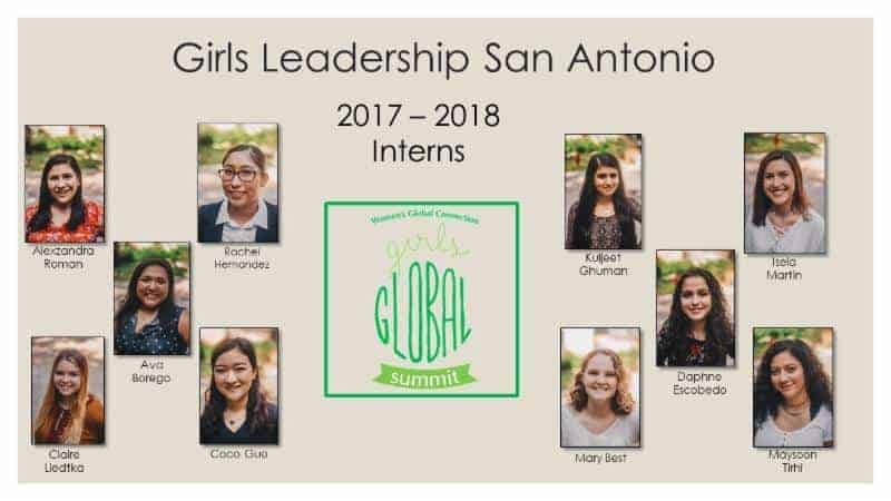 2017-18 WGC Girls Global Summit Interns