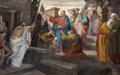 5th Sunday of Lent: Jesus raises Lazarus from the dead