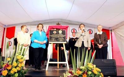 Develan placa conmemorativa por 150 años CCVI