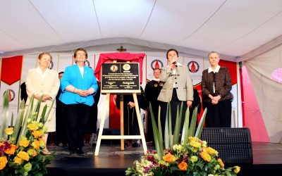 Unveiling of the Plaque to Commemorate the CCVI 150th Anniversary