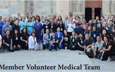 Quijotes de San Antonio, Embajadores de la Salud, Asisten a personas de Oaxaca, México