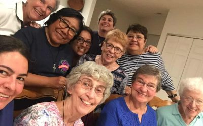 An Intercultural, intergenerational gathering at our Novitiate House in St. Louis