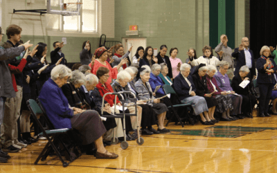 150 Anniversary celebration at Incarnate Word High School, San Antonio