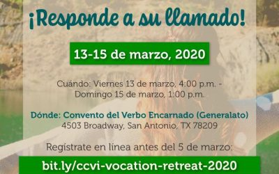 Retiro Vocacional, Marzo 2020