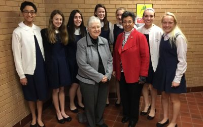 Sr. Tere and Sr. Peggy visit IWA