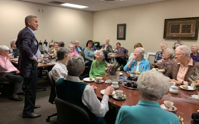 CHRISTUS: Tea Time with CCVI Sisters