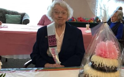 Sister Sheila Ruane celebrated her 100th Birthday