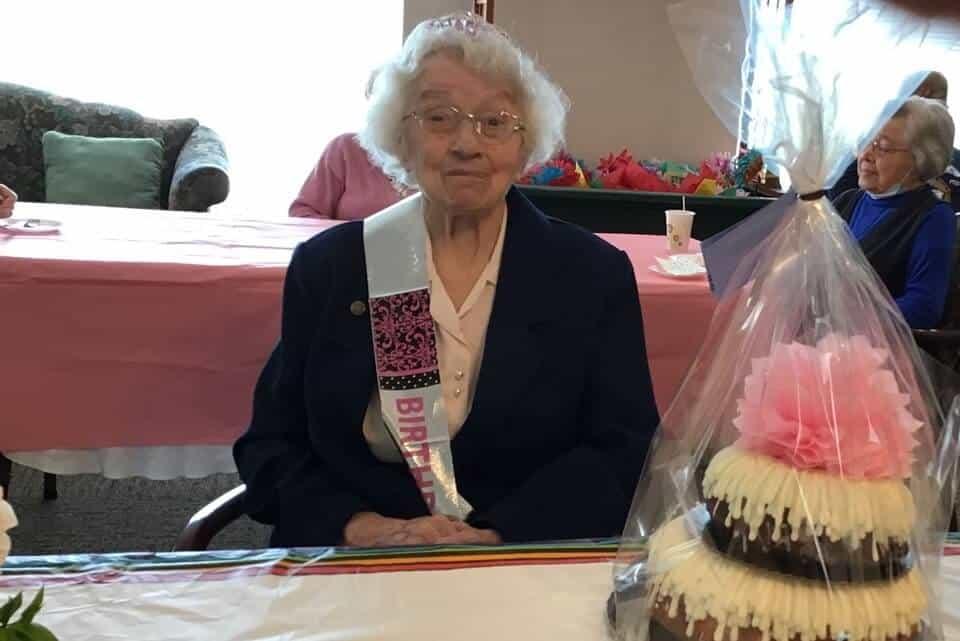 La hermana Sheila Ruane celebró su centenario