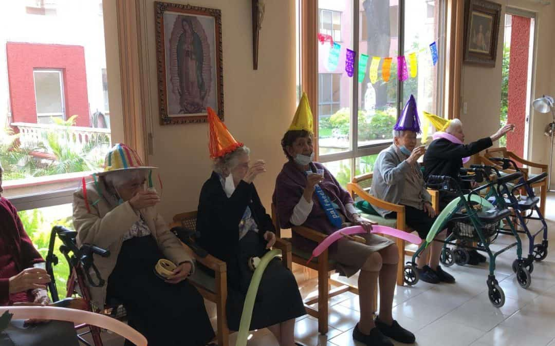 Celebrating Grandmothers' Day at the infirmary