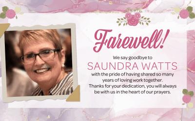 Saundra Watts Farewell