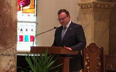 Dr. Thomas Evans' remarks at the Incarnate Word Day Mass