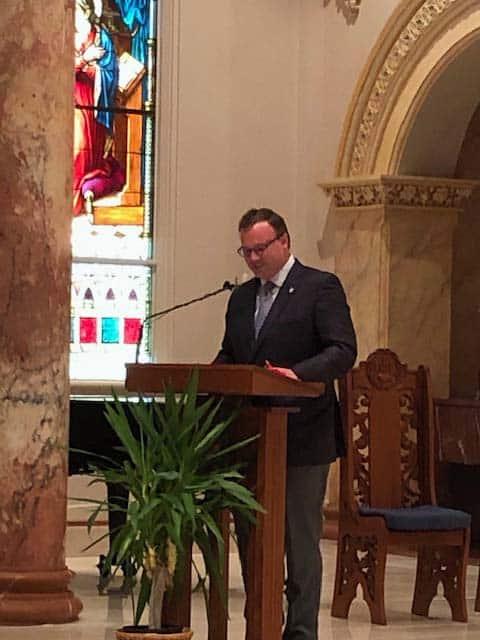 Palabras del Dr. Thomas Evans en la Misa del Día del Verbo Encarnado