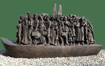 Angels Unawares statue
